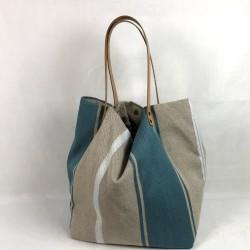 Linen shopping bag