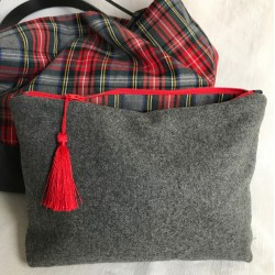Pochette lainage