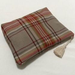 Scottish fabric pouch