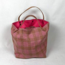 Small and large woolen tote